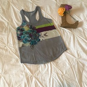 Express Tank Top with Sequin Accents